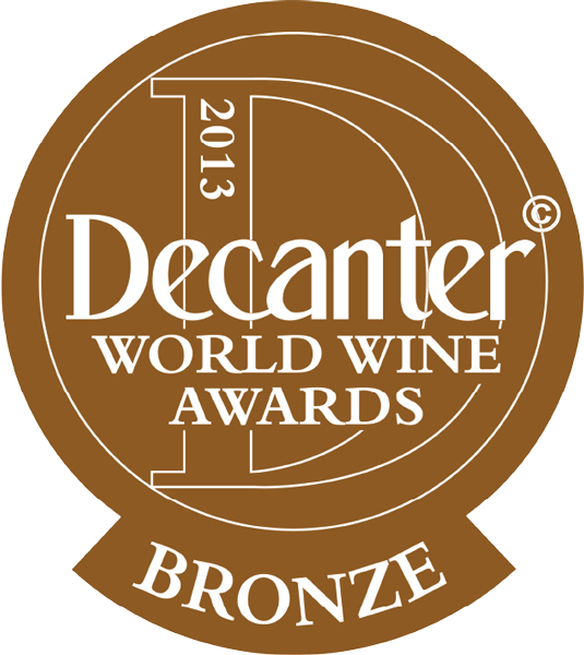 Decanter DWWA BRONZE 2013