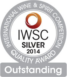 Silver MEdal IWSC 2014 - Outstanding