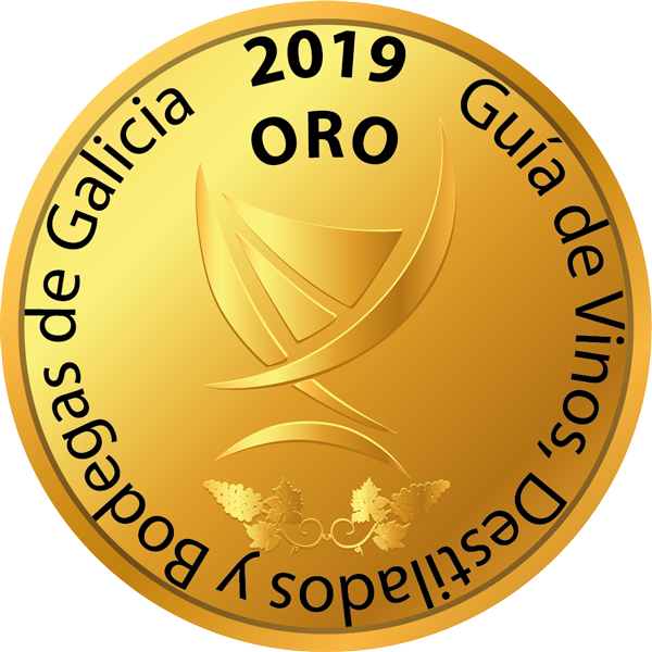 Medalla de Oro 2019 - Guía de Vinos, Destilados y Bodegas de Galicia