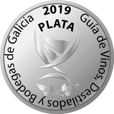 Medalla de Plata 2019 - Guía de Vinos, Destilados y Bodegas de Galicia