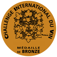 Medalla de Bronce Challenge International du Vin