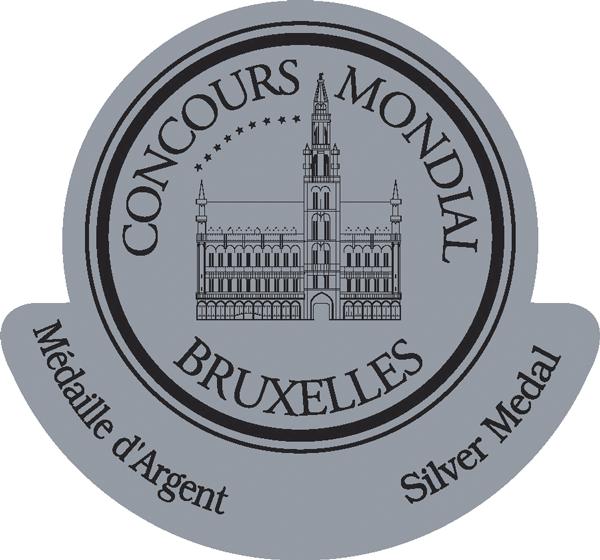 Medalla de Plata del Concurso Internacional de Bruselas